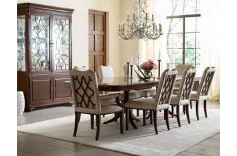 Kincaid Hadleigh 9pc Double Pedestal Dining Set