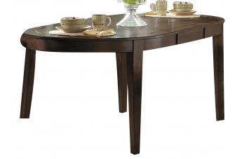 Homelegance Verona 7pc Counter Height Table Set in Distressed Amber