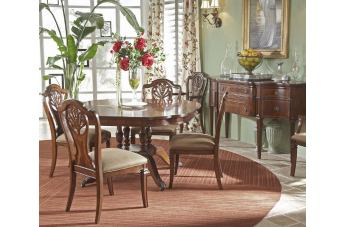 Fine Furniture Antebellum 5 Piece Small Dining Set in Hermitage