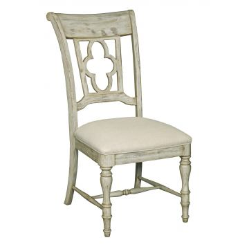 Kincaid Weatherford Side Chair in Cornsilk Finish 75-061 (Set of 2)