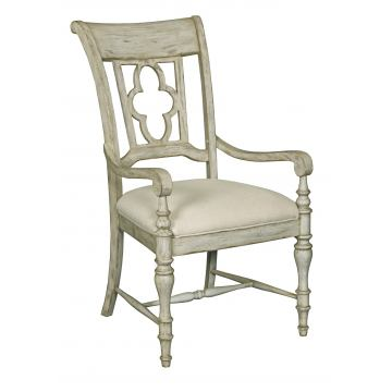Kincaid Weatherford Arm Chair in Cornsilk Finish 75-062 (Set of 2)