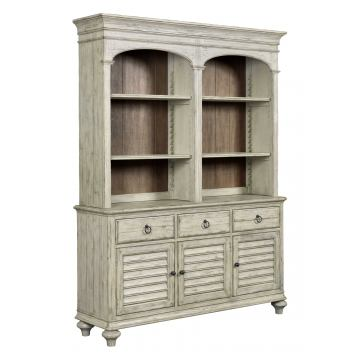 Kincaid Weatherford Hastings Open Hutch and Buffet in Cornsilk Finish 75-079P