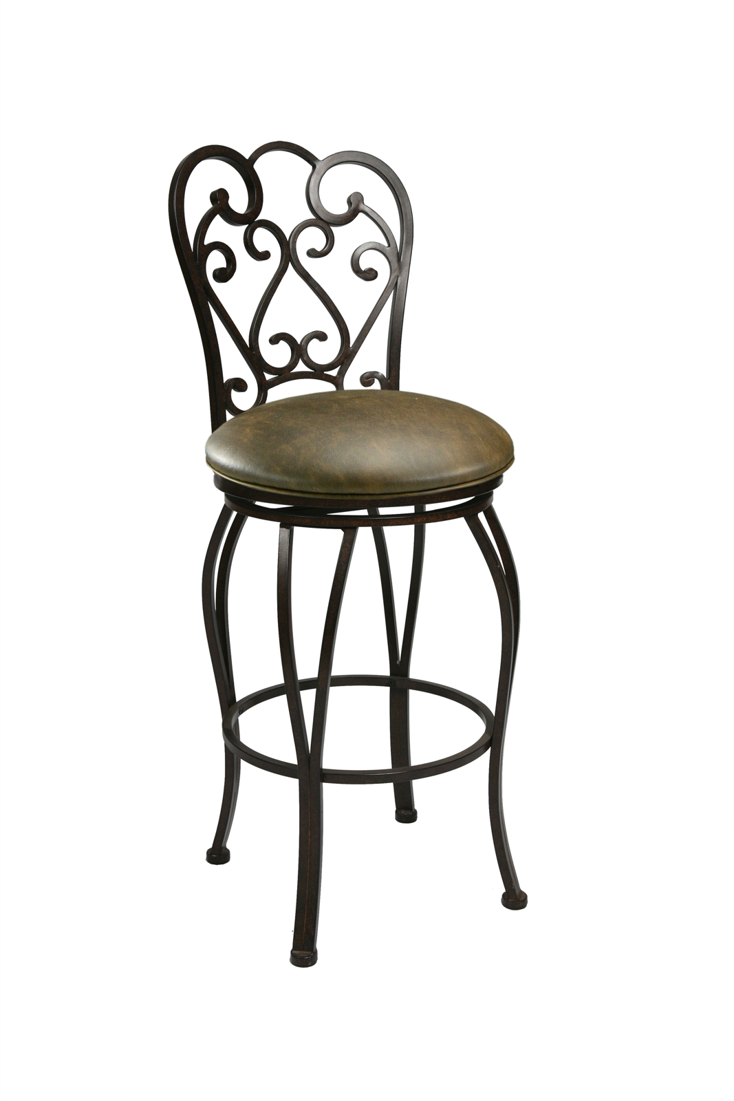 Pastel Furniture Magnolia Swivel Barstool In Autumn Rust Set Of 2 Ma 222 30 Ar 649 By Dining
