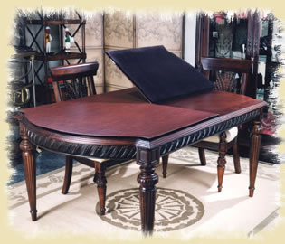 custom table pad by dining rooms outlet