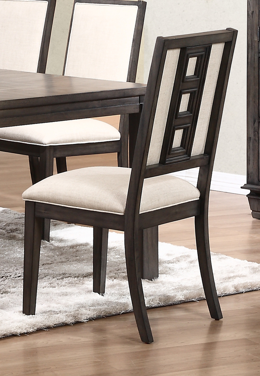 New Classic Furniture Beacon Street Side Chair In Dusk
