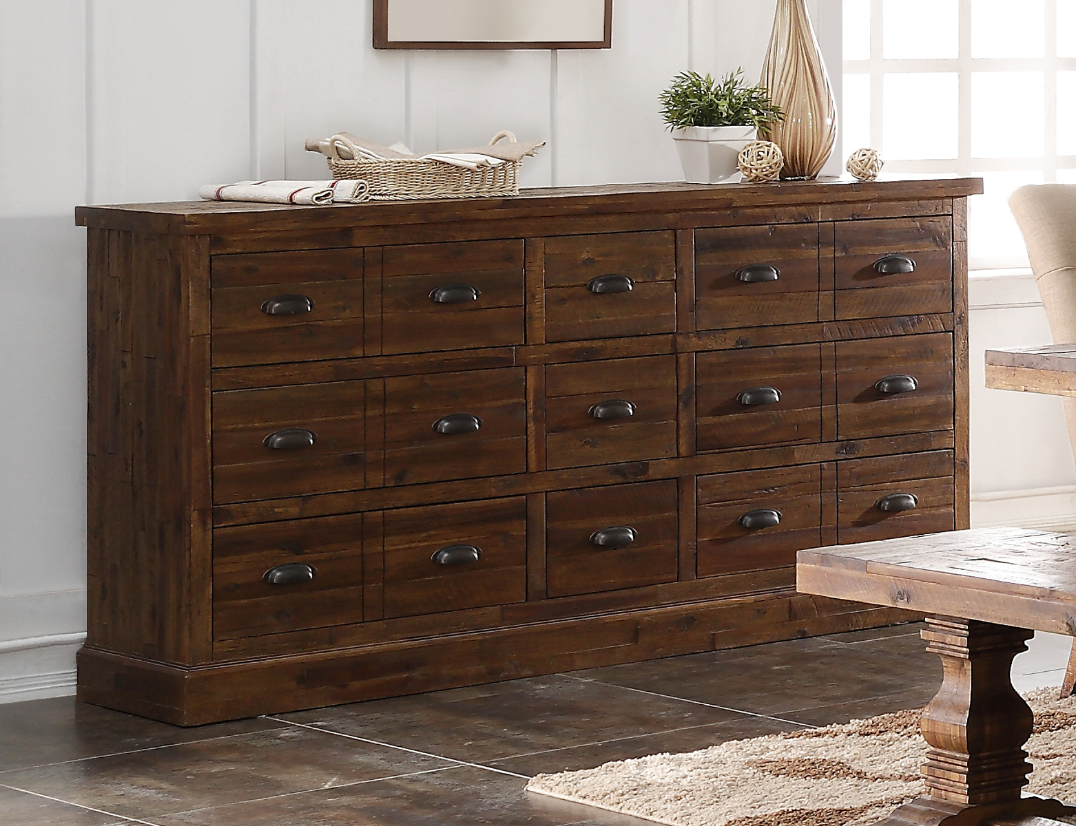 New Classic Furniture Normandy Sideboard In Vintage